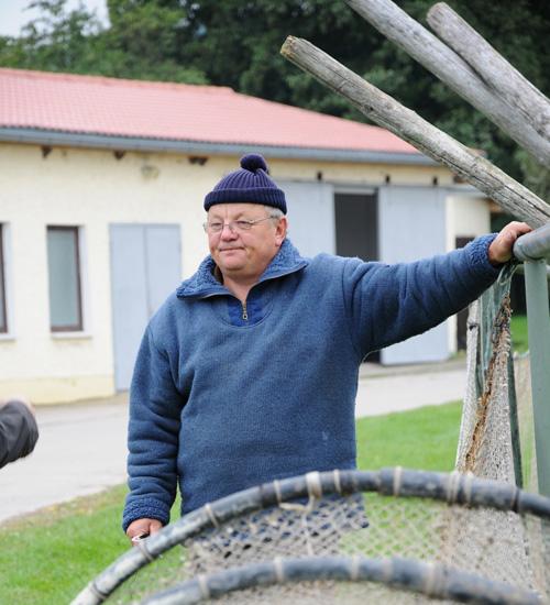 Herr Wendland - Peenefischer - Fischerei Salem